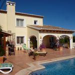 Ferienhaus in Moraira Costa Blanca mit privatem Pool